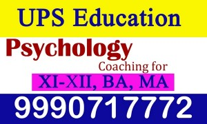 Institute for Psychology Classes in New Delhi - UPS Education