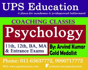 Psychology Classes in Rohini - UPS Education