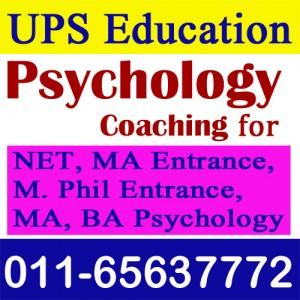 Searching for Best NET, MA Psychology Coaching in Delhi