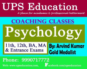 Searching for Excellent Psychology Coaching Center in Delhi -UPS Education