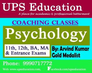 Best Psychology Coaching in Punjabi Bagh – UPS Education