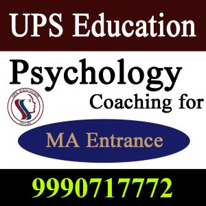 Best Psychology Coaching  For MA Entrance