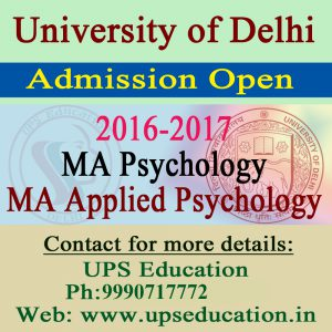 Admission Open in Delhi University