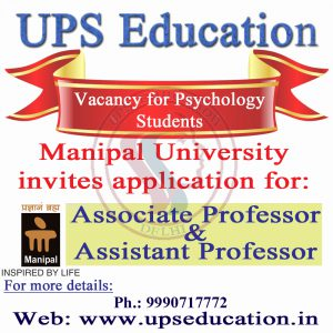 Vacancy for Psychology Students