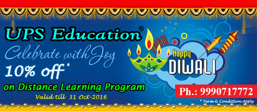 10% Discount on Psychology Distance Learning Mode