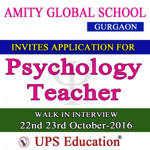 Psychology Teacher Job
