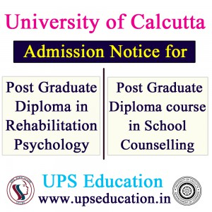 Admission Open in University of Calcutta