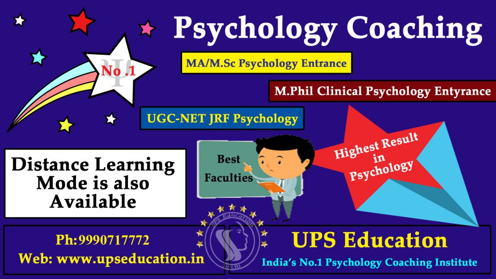 Best Psychology Coaching in India - UPS Education