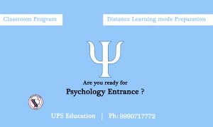 Psychology coaching for MA and M. Phil