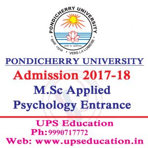 Admission Open for MSc Applied Psychology