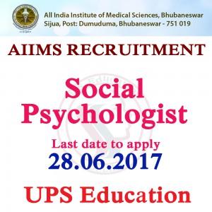 Recruitment of Social Psychologist