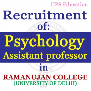 Psychology Professor Vacancy