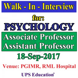 M.Phil Psychology Faculty Vacancy