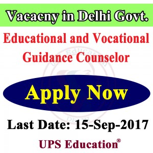Psychology Vacancy in Delhi